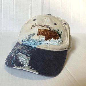 Embroidered Alaskan Dad hat